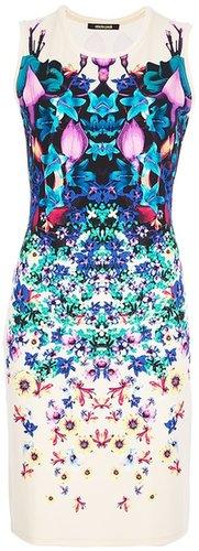 Roberto Cavalli floral sleeveless dress