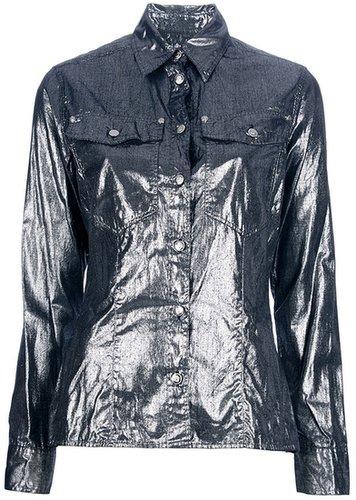 Versace Vintage Metallic shirt