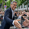 George Clooney in Paris After Breakup | Photos