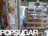 Gwyneth Paltrow did some shopping in Spain.