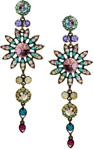 Love Rocks Flower Chandelier Earring