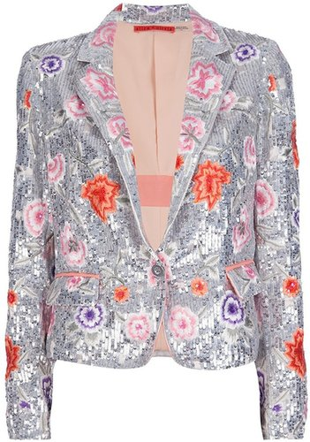 Alice+Olivia 'Vanda' sequined blazer