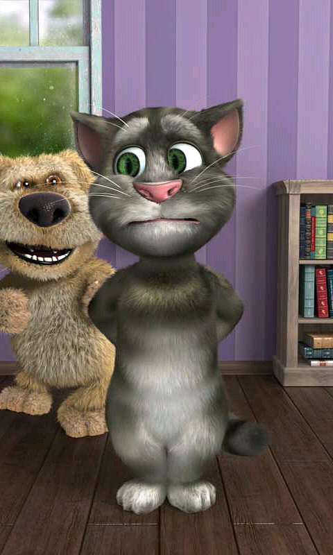 Talking Tom (iTunes and Android, free, ages 3+)