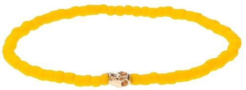 Luis Morais Matte bead bracelet