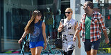 Cory Monteith's Glee Castmates Meet For Brunch Days After His Death