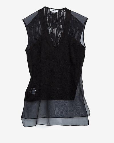 Helmut Lang Thread Bare Sleeveless Blouse