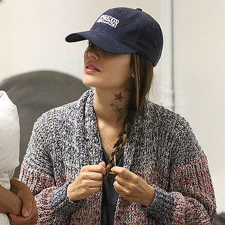 Rachel Bilson Neck Tattoo Photos