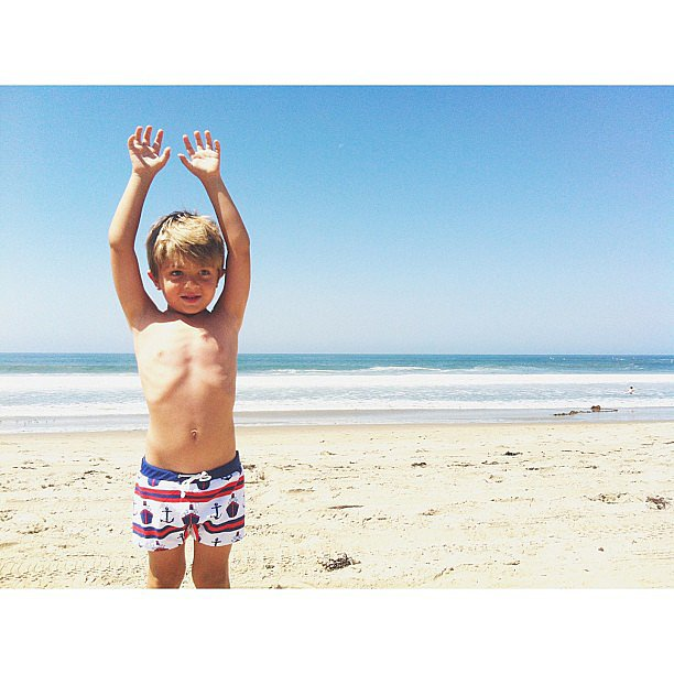Raise your hands if you love the beach! Source: Instagram user jamiemenna
