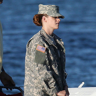 Kristen Stewart Filming Camp X-Ray in LA Pictures