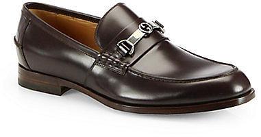 Gucci Taras Leather Horsebit Loafer