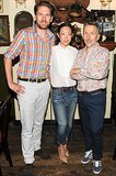 Simon Doonan and Tomoko Ogura celebrated Rupert Sanderson at his Barneys launch with a New York breakfast.
