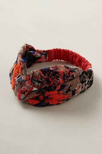 Sparked Marigold Turban Headband