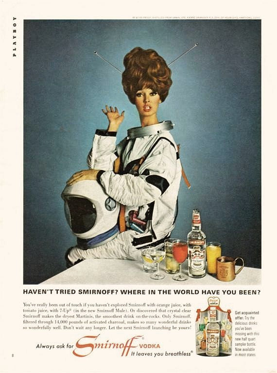 Space Girl Astronaut Ad