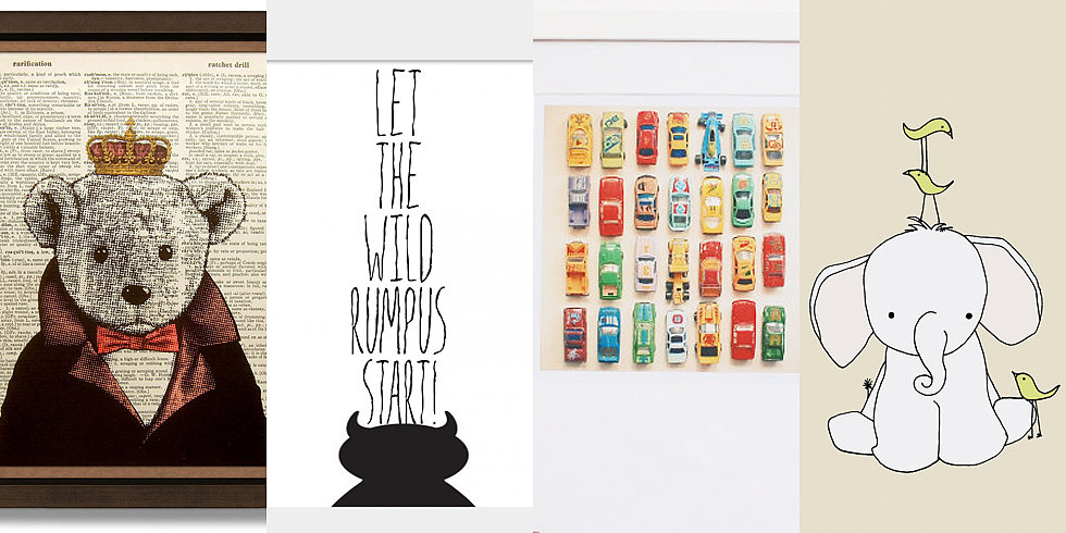12 Adorable Etsy Prints For Your Nursery — All Under $20