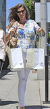 Gisele Bündchen went shopping in LA.
