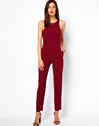 ASOS Jumpsuit with Chic Racer Detail