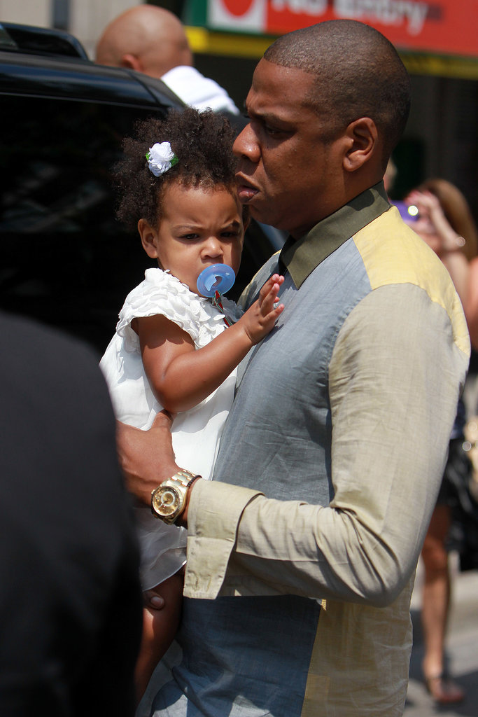 Beyoncé and Jay-Z Make a Pit Stop in Canada With Blue Ivy