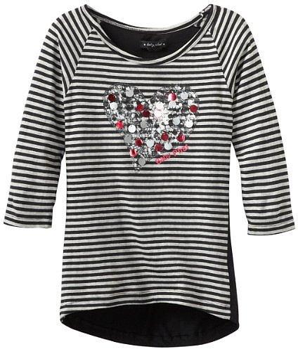 Baby Phat - Kids Girls 7-16 Striped Top