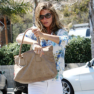 Celebrity Style Stalk: Shop Gisele Bundchen's White Jeans