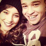 Rhiannon Fish and Reece Mastin celebrated one year together. Source: Instagram user rhiannonmfish