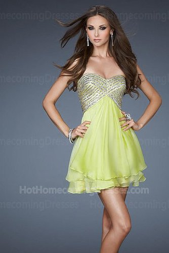 Sassy Short Silver Sequin Homecoming Dress Light Lime On Sale