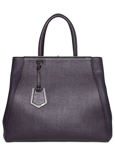 2jours Large Textured Leather Bag
