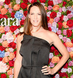 As the new face of Max Mara, Jennifer Garner was the star of the brand's  soiree. She wore her long hair in a straight blow dried look and her makeup was simply flawless.