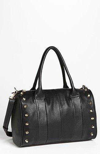 Emperia Studded Faux Leather Barrel Bag, Large | Nordstrom