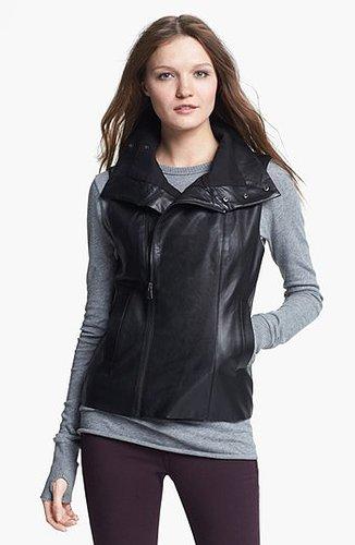 Echo Faux Leather Front Zip Vest | Nordstrom