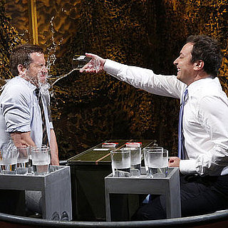 Ryan Reynolds and Jimmy Fallon Water War | Video