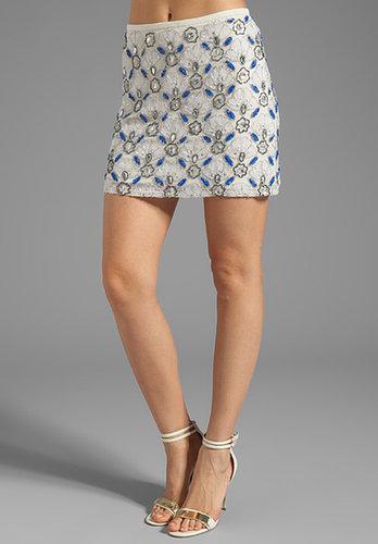 Yumi Kim Ana Skirt in Blue/White Combo