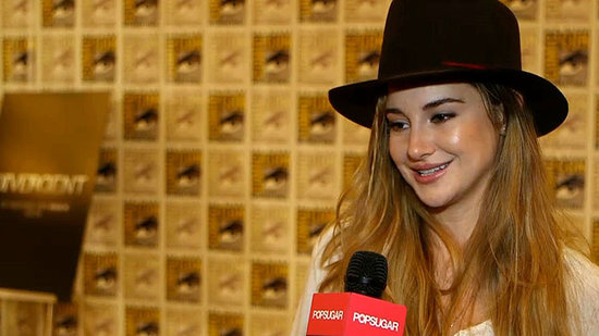 "Shailene Woodley Reveals Which ""Badarse"" Stunt She Missed Out On Filming Divergent"
