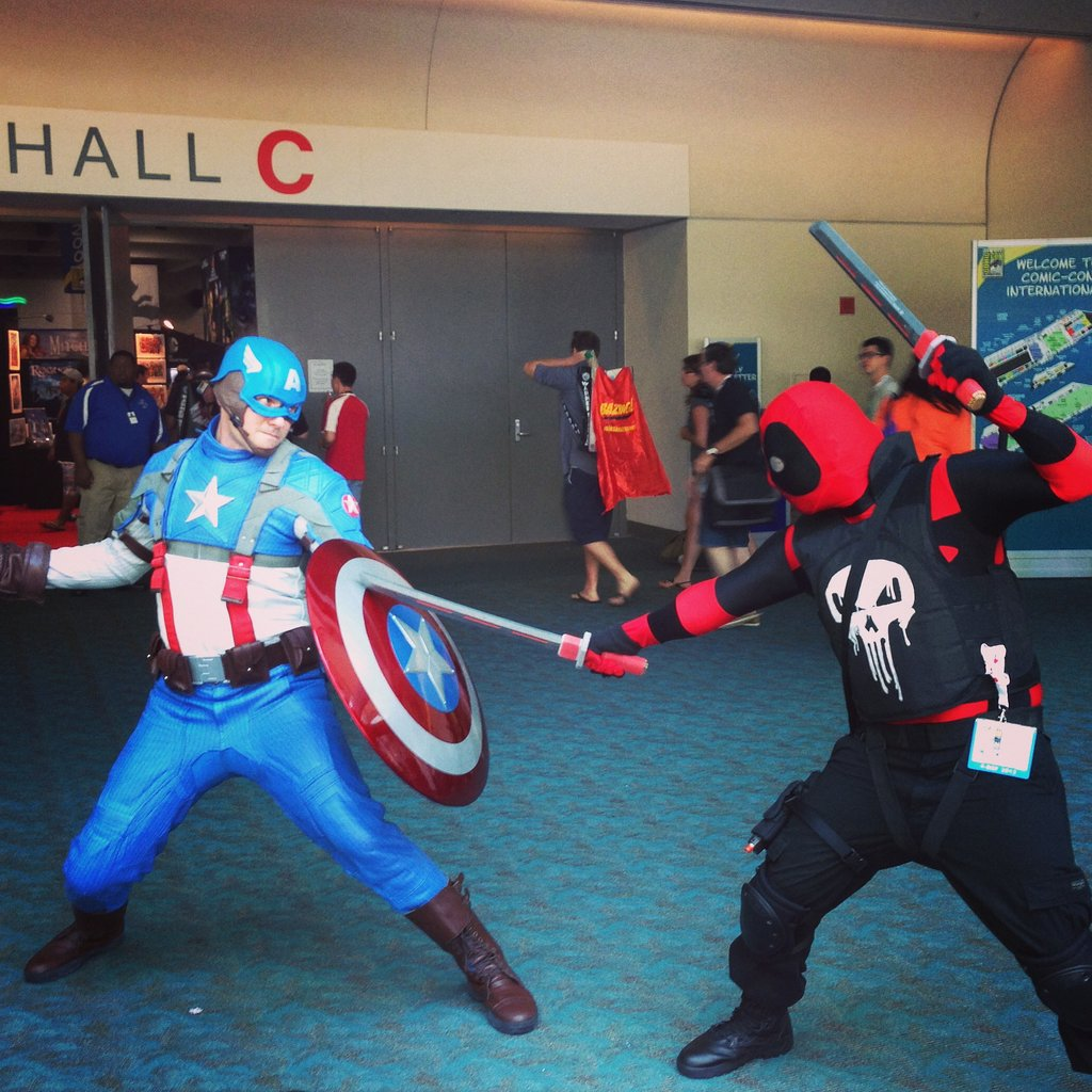 Captain America vs. The Punisher