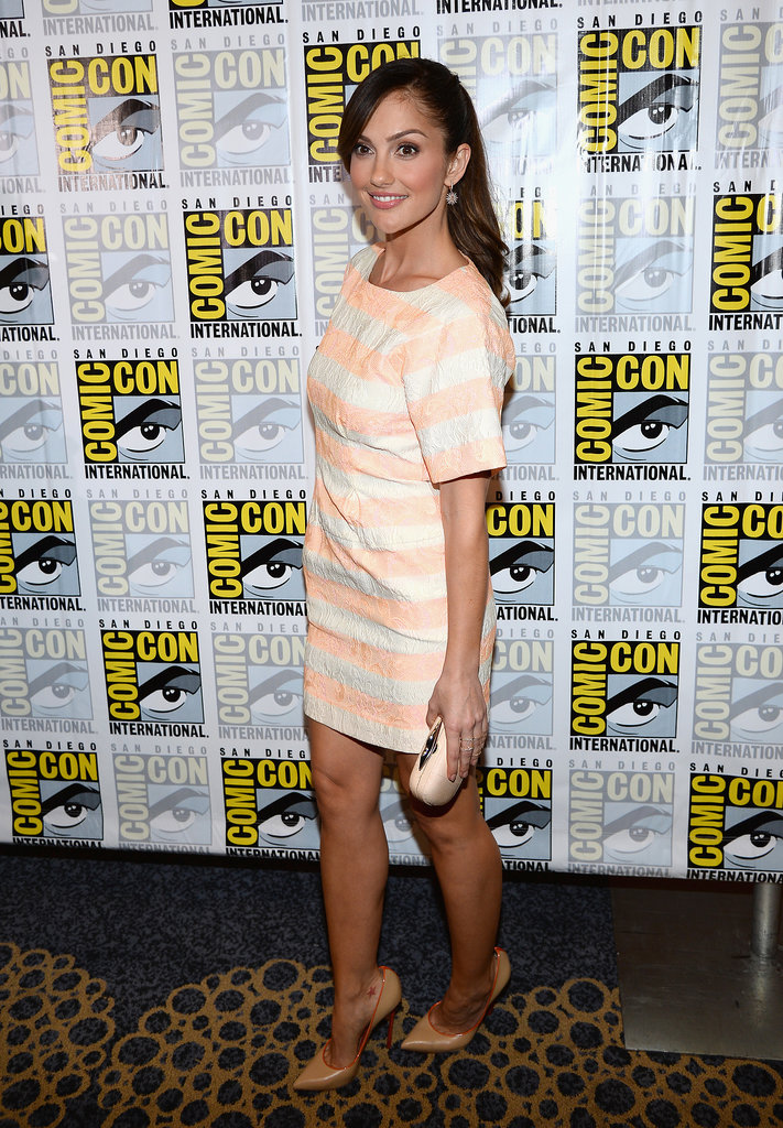 Minka Kelly was at Comic-Con for the Almost Human press room.
