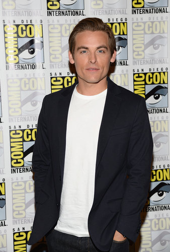 Kevin Zegers attended a press line for The Mortal Instruments: City of Bones on Friday.