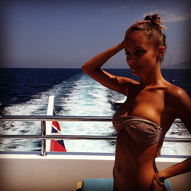 Nicole Richie flaunted her amazing figure while holidaying with her family in Italy. Source: Instagram user nicolerichie