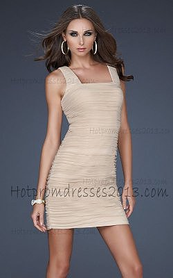 Nude Tight Short Prom Dresses Cheap 2013 for Sale