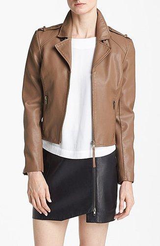 BB Dakota 'Mister' Faux Leather Jacket Large
