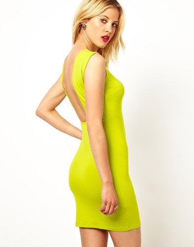 ASOS Mini Sleeveless Square Back Dress
