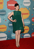 Ginnifer Goodwin wore a green dress for Entertainment Weekly's annual party at Comic-Con.