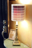 Paint Chip Lamp Shade
