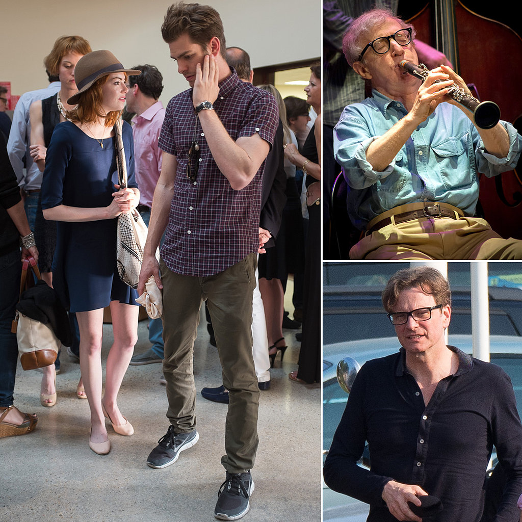 Emma and Andrew Couple Up For a Woody Allen Concert