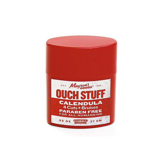 Speaking of bumps and scrapes, Mayron's Goods Ouch Stuff ($16) soothes abrasions and bruises instantly.