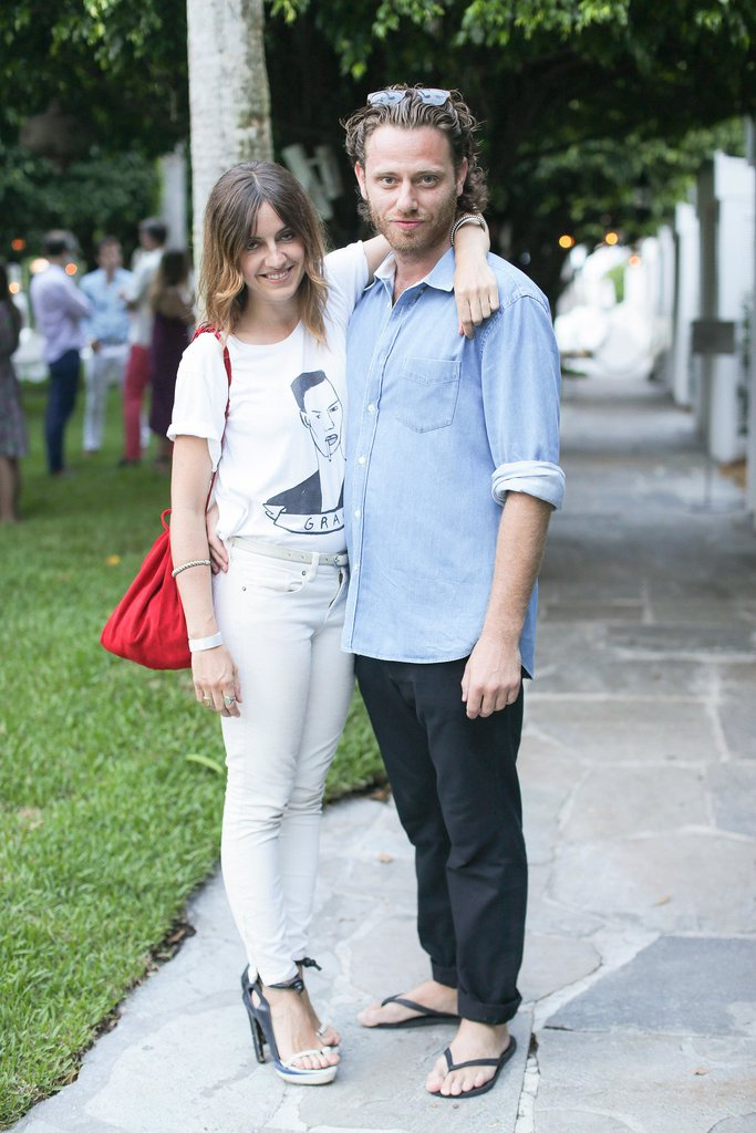 His and hers casual-cool. Source: David X Prutting/BFAnyc.com