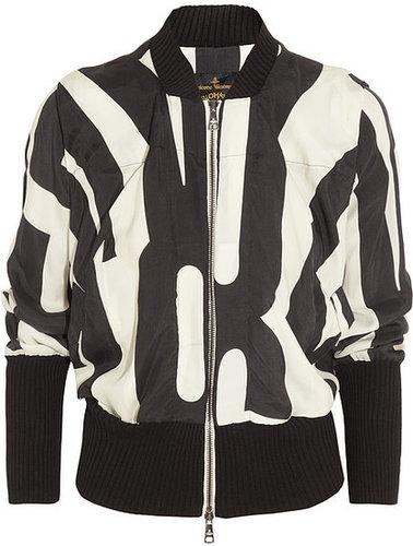 Vivienne Westwood Anglomania Printed bomber jacket