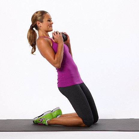Leaning Camel Exercise
