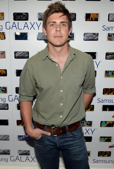 Chris Lowell was on hand for Veronica Mars.