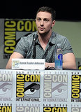 Aaron Taylor-Johnson was at the panels for Godzilla and Kick-Ass 2.