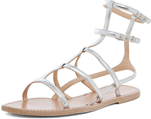Isabel Marant Orion Sandals in Silver