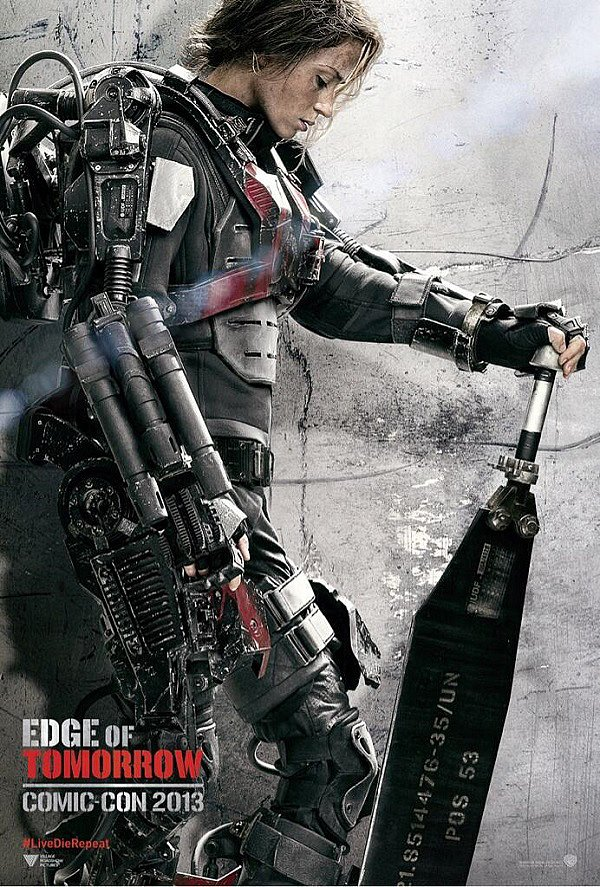 Emily Blunt's Edge of Tomorrow Poster